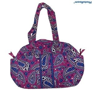 Vera Bradley BOYSENBERRY Baby Bag with Diaper Pad